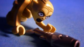 Gollum attack lego the lord of rings wallpaper