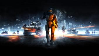 Halo master chief battlefield 3 Wallpaper