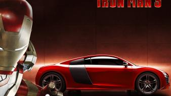 Iron man audi marvel comics 3 e-tron wallpaper