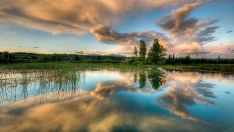 Landscapes nature earth reflections viewscape wallpaper