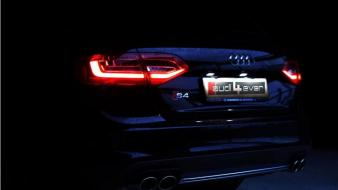 Luxury sport black s4 german rear view wallpaper