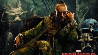 Marvel comics 3 ben kingsley the mandarin wallpaper