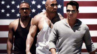 Men the rock mark wahlberg dwayne johnson wallpaper