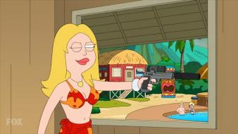 Milf artwork huge american dad francine smith Wallpaper