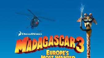 Movie posters madagascar 3 wallpaper