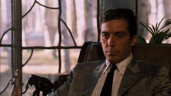 Movies screenshots the godfather al pacino michael corleone wallpaper