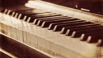 Music piano style wallpaper
