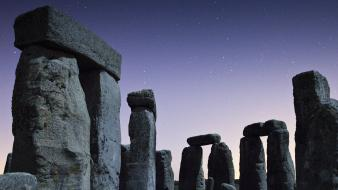 Night england stonehenge wallpaper