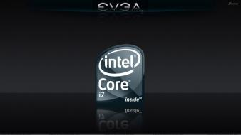 Nvidia evga dj black background intel core Wallpaper