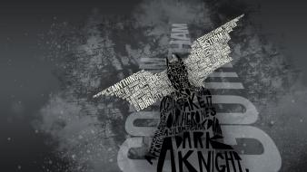 Quotes typography grayscale the dark knight rises wallpaper