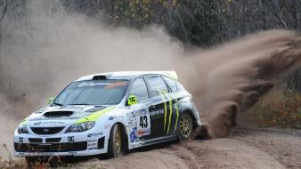 Sand monsters rally subaru ken block impreza wrx wallpaper
