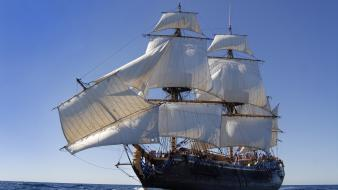 Ships sail ship Wallpaper