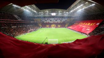 Soccer panorama stadium galatasaray sk tt arena gs wallpaper