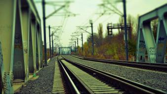 Trains railroads wallpaper