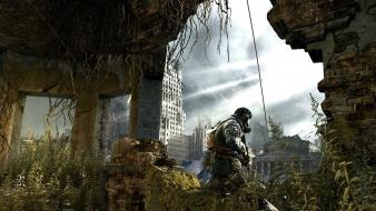 Video games destruction metro screenshots last light wallpaper