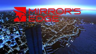 Video games mirrors edge parkour wallpaper
