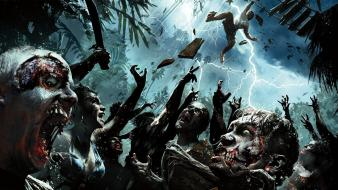 Video games zombies dead island riptide island: wallpaper