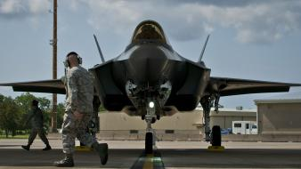 Airplanes pilot f-22 raptor wallpaper