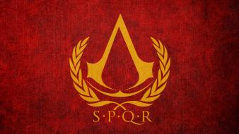 Assassins creed flags spqr Wallpaper