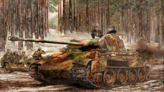 Back tanks sparks pzkpfw 5 panther Wallpaper