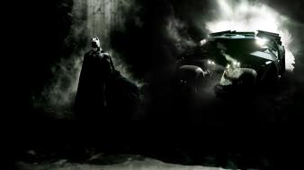 Bale artwork batcave batmobile the dark knight wallpaper