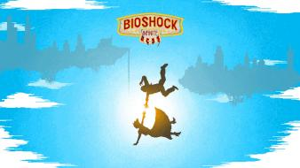 Bioshock infinite elizabeth booker dewitt 8bit comstock Wallpaper