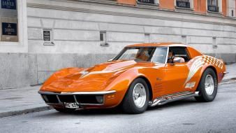 Cars chevrolet corvette stingray muscle car wallpaper
