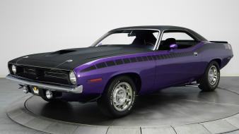 Cars muscle classic plymouth hemi cuda wallpaper