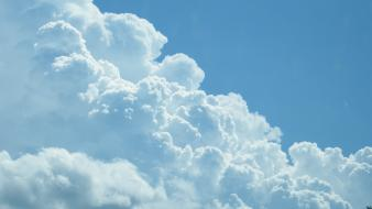 Clouds sunlight stairway to heaven skies wallpaper