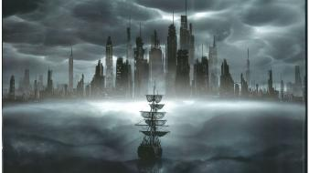 Concept art cloud atlas wallpaper