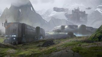 Concept science fiction artwork 4 343 industries wallpaper