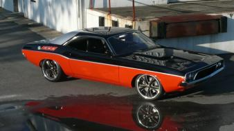 Dodge tuning wheels challenger r/t american auto wallpaper