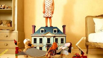 Dollhouse funny wallpaper
