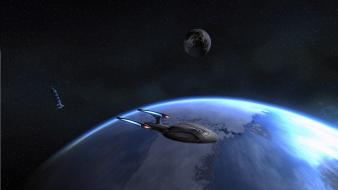 Earth online spaceships science fiction vehicles odyssey wallpaper