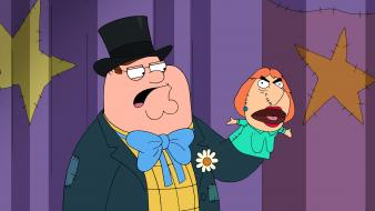 Family guy peter griffin lois puppets wallpaper