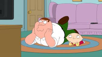 Family guy stewie griffin peter Wallpaper