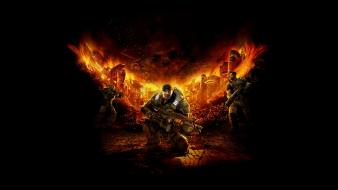Gears of war carmine marcus fenix dominic santiago wallpaper