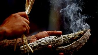 Hands incense spiritual george ray wallpaper