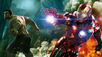 Iron man movies the avengers (movie) hulk wallpaper