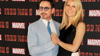 Iron man robert downey jr gwyneth paltrow 3 wallpaper