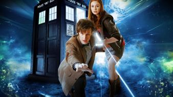 Karen gillan amy pond eleventh doctor who wallpaper