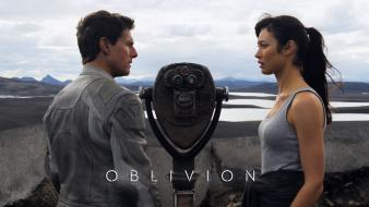 Kurylenko tom cruise oblivion - movie harper Wallpaper