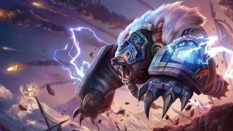 League of legends polar bears volibear wallpaper