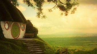 Lord of rings shire bag end films Wallpaper