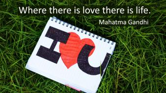 Love quotes mahatma gandhi wallpaper