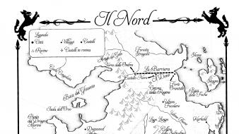 Maps game of thrones nord Wallpaper