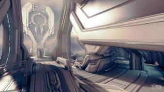 Maps structure 4 forerunner multiplayer 343 industries wallpaper