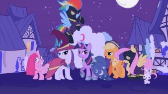 Meanwhile my little pony: friendship is magic wallpaper