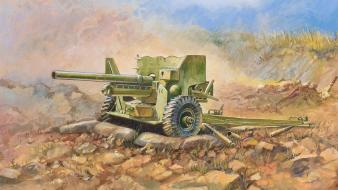 Military artillery artwork Wallpaper