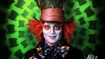 Movies alice in wonderland mad hatter johnny depp wallpaper